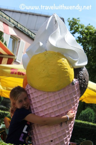 Kids really love ice cream!