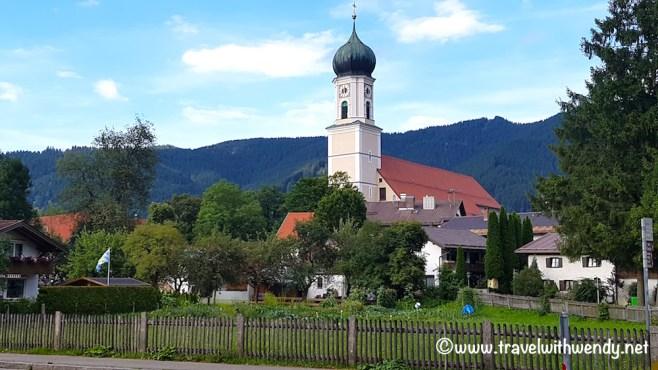Oberammergau - Church