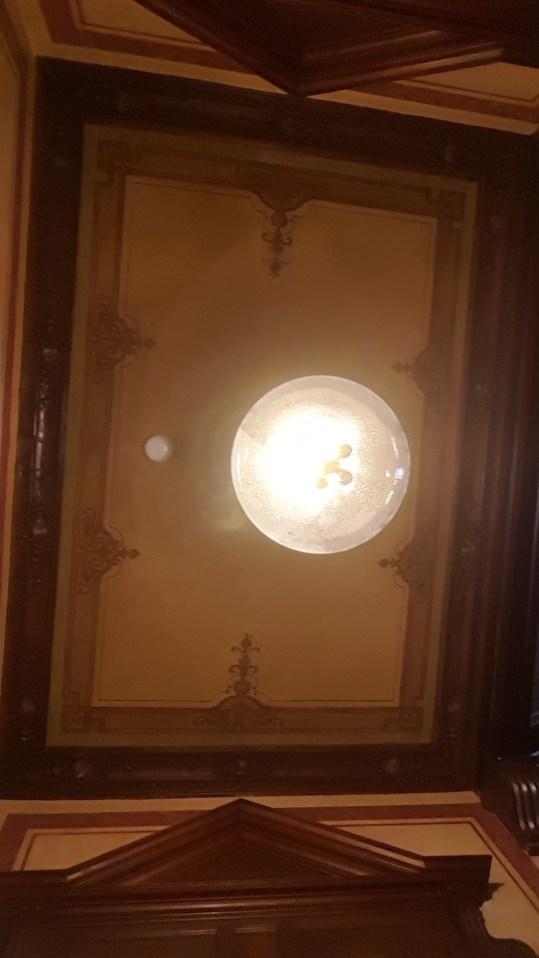 Upper Room Hotel - ceiling