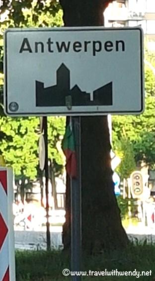 Antwerpen sign