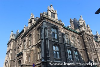 Beautiful buildings of Antwerp