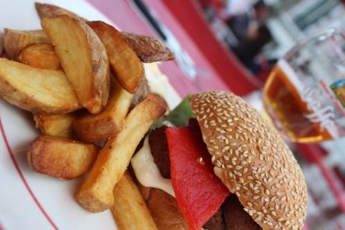 Burgers and fries - Antwerp