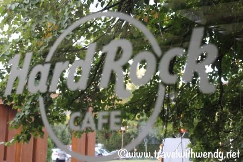 Hard Rock front door