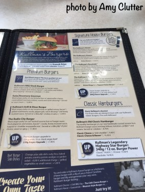 Sam Kullman's Menu