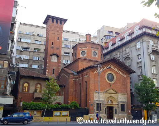 The Red Church - saved during the revolution