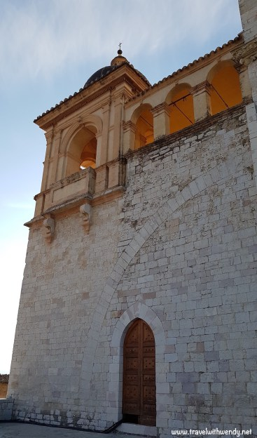 Church steeple of light
