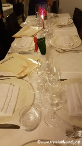 Exquisite table setting