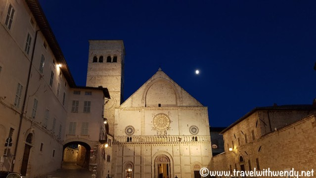 Good night Assisi