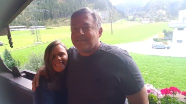 Jon and I in Austria