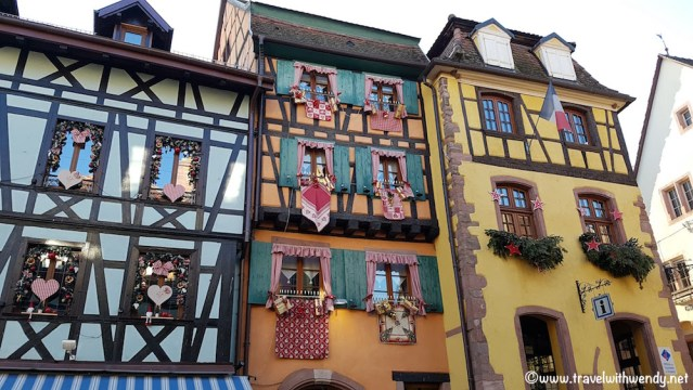 Riquewihr Gingerbread houses
