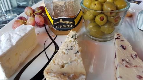 Cheese and wine - YUM!!