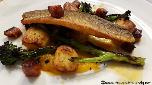 Fresh Fish - from Angel Inn