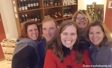 Friends who like wine together - with Bartho