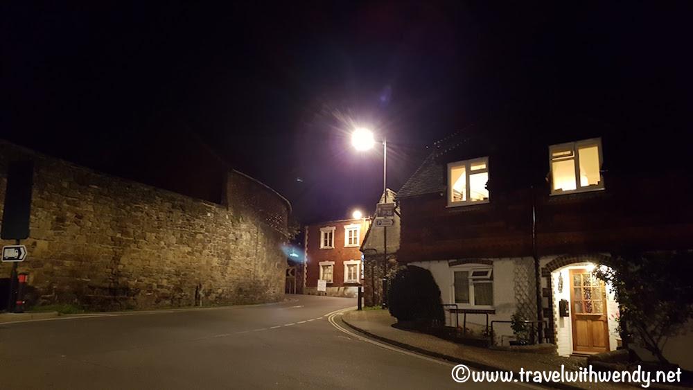 Petworth at night