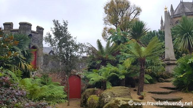 Tropical gardens in England