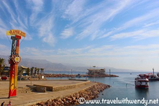 Beach front at Eilat