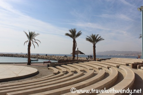 North Beach - amphitheatre along the water - Eilat, Israel