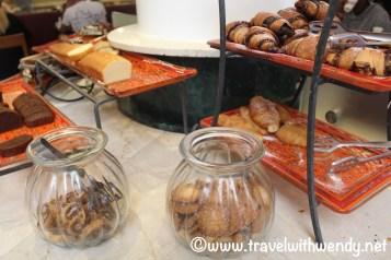 Pastries at Caesar Premier