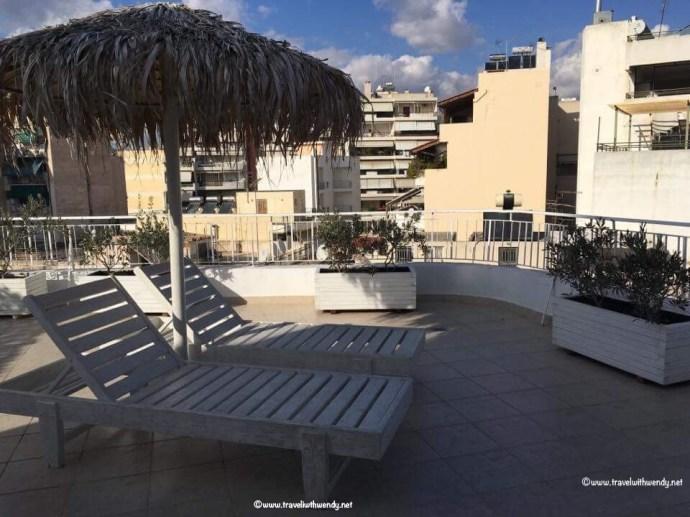 Apartment patio