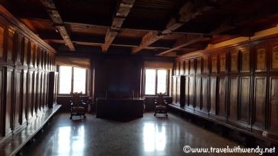 Judging room
