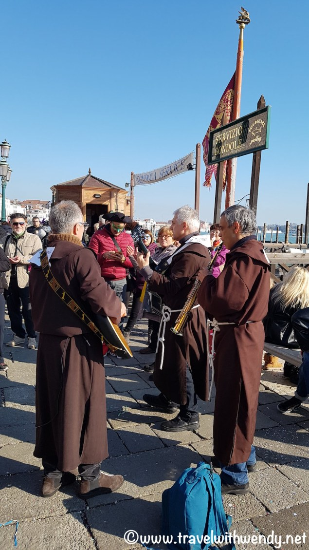 Monks jamming on Port Saccaria