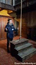 Elena teaching history