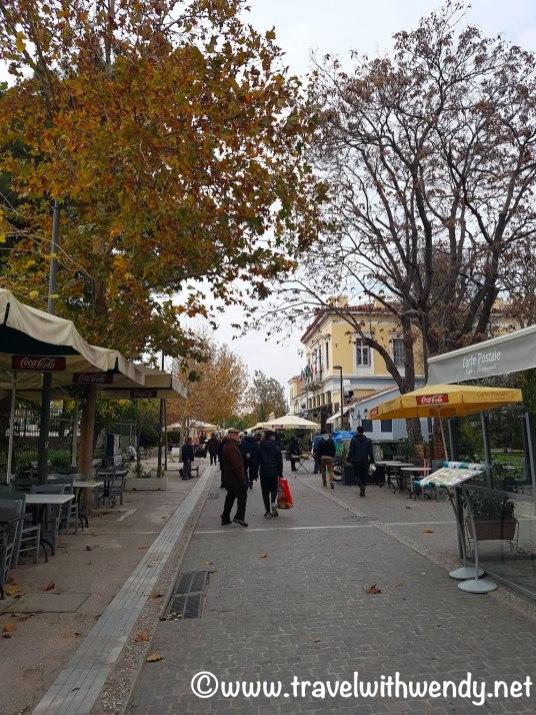 Plaka neighborhood