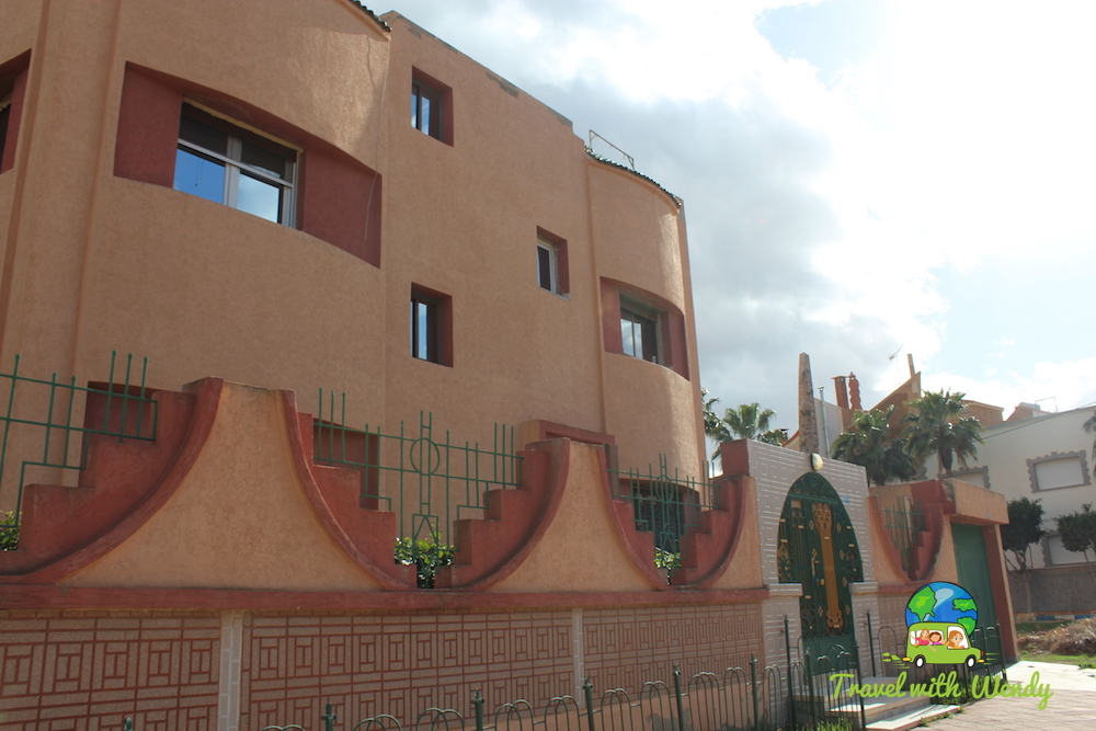 Architecture around Nador