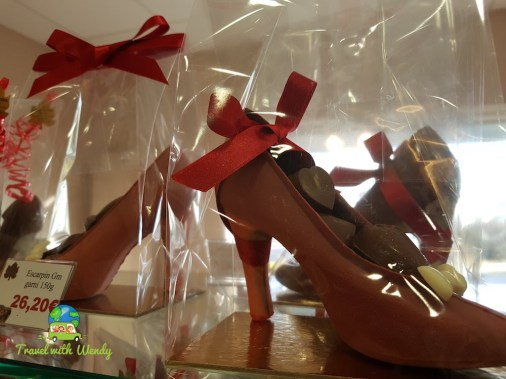Chocolate pumps?
