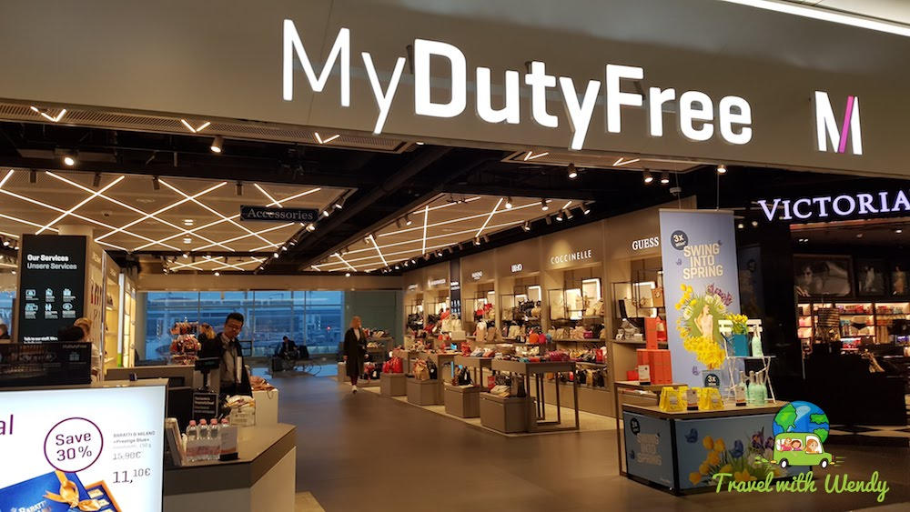 Duty Free at Munich