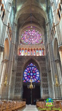 Entrance to the Cathedral in Reims