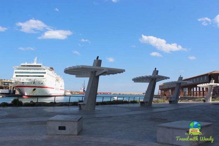 Melilla harbor