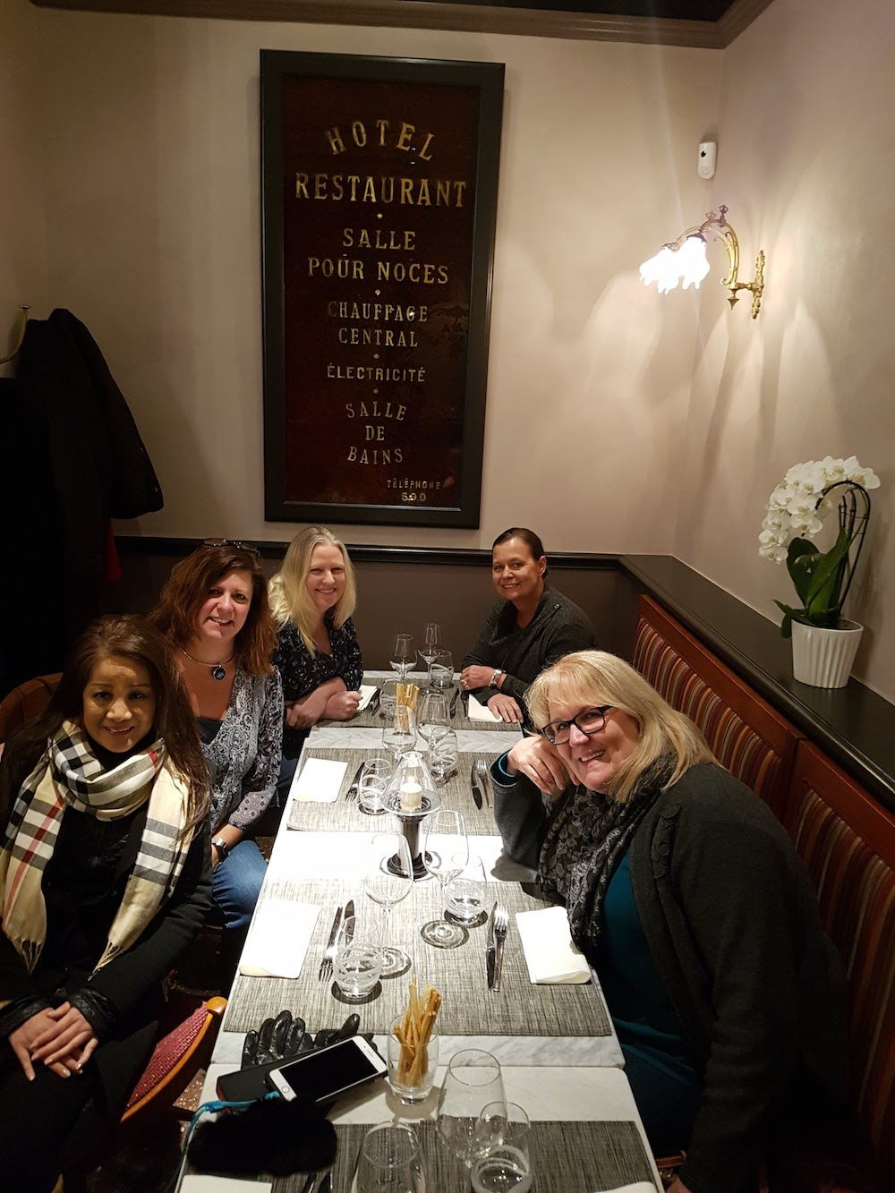 Ready for dinner - La Table Kobus