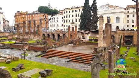 Ruins around Colosseum