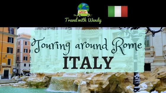 Visiting Touring around Rome