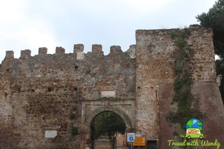 Entrace to the castle