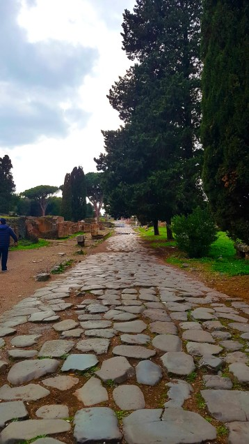 Entrance into Ostia Antica