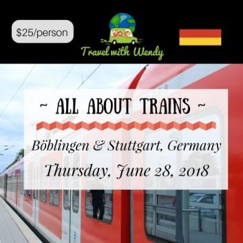 JUNE TRAIN CLASS - 28th 2018