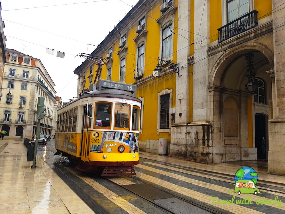 Trolleys around Lisbon