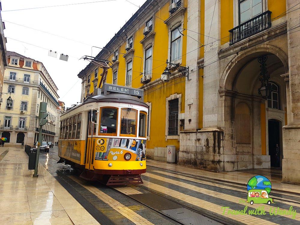 Trolleys around Lisbon