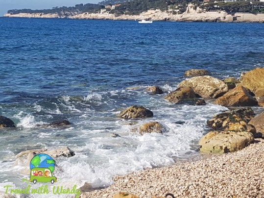 Beach at Cassis