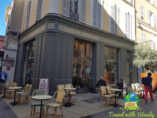 Cafe de L'Horloge