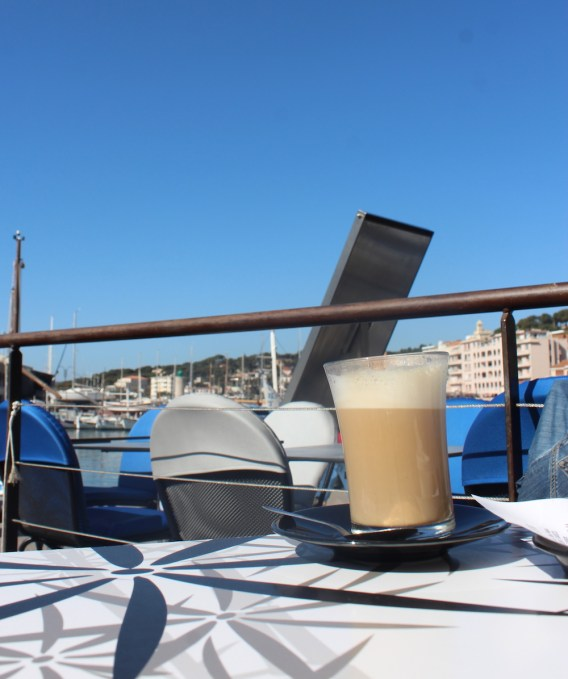 Coffee on the harbor