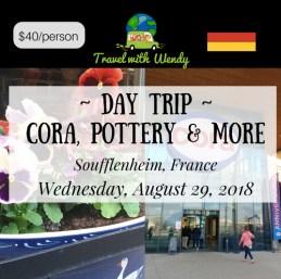 DAY TRIP - CORA AUG 29th