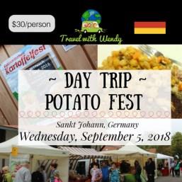 DAY TRIP - POTATO FEST - Sept 5