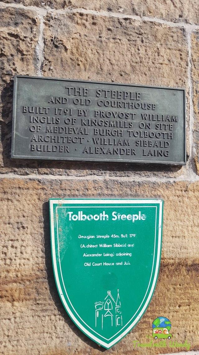 Tollbooth Steeple - Inverness