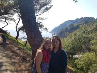 Walking around the coast in Catalonia