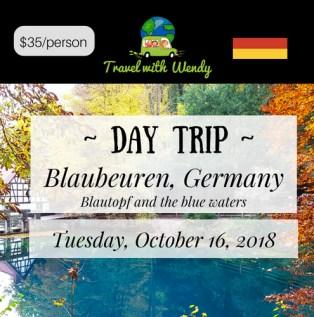 DAY TRIP - Blaubeuren OCT 2018