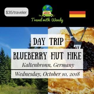DAY TRIP - Blueberry Hut Hike