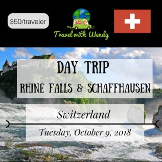 DAY TRIP - Rhine Falls and Schaffhausen